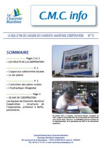 cmc info 11