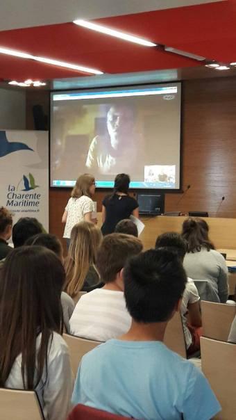 Skype - Groupe 1 - Charente Maritime